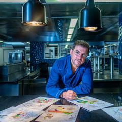 Illustration du savoir-faire - chef cuisinier - Loire Atlantique