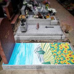 Parce qu'il était peintre ..Mr Romero . une reproduction d'un de ces tableaux......