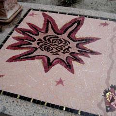 Mosaique d'après une oeuvre de jEAN LURCAT