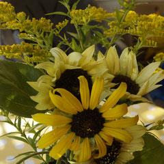 spätsommerlicher Blumenstrauss