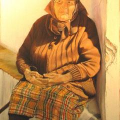la grand mère Portugaise
