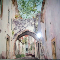 """Rue de l'amandier """"Algarve"""""""