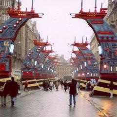 Le chemin des étoiles Création Jean-Claude Mézières.Photo Hervé Arnoul.