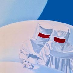 die Untersuchung, 2007, Oil on Canvas, 140 x 110 cm