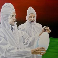 Atem, 2007, Oil on Canvas, 80 x 95 cm