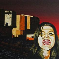 Very Large, 1999, Acrylic on Canvas, 50 x 100 cm