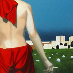 Feldfrüchte, 2007, Oil on Canvas, 80 x 130 cm