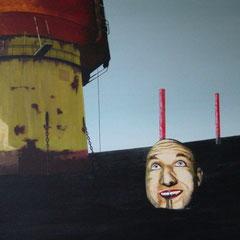 change me, 1999, Acrylic on Canvas, 80 x 120 cm