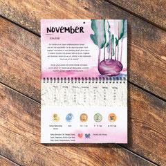 Der Wachsende Kalender 2019 Tausendsassa. November: Kohlrabi