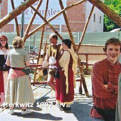 """Wittenberger Stadtfest """"Luthers Hochzeit"""" 2006 - BSV Merkwitz"""
