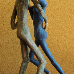 La Muñeca y el Siciliano .:. Materiales varios - Altura: 40cm - 2008