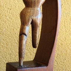 La Media Pena .:. Madera - Altura: 23cm - 1999