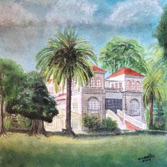 La casa de los Bergeles .:. Oleo sobre tela - 35x30 - 2009