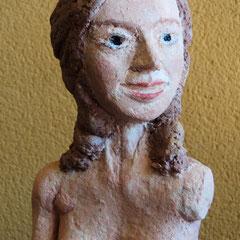 La Venus de Ancud .:. Papel maché - Altura: 20cm - 2013