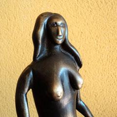 La Sanjuanina Mariú .:. Bronce - Altura: 29cm - 2000