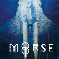 Moorse, trio de dark rock français composé de Vincent Eyr, Frédéric Mattio, guitariste et Gurvan Mével