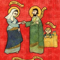 illustration mariage