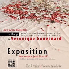 carton d'exposition de peintures