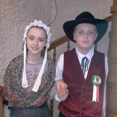 Clara et Arnaud 10 ans