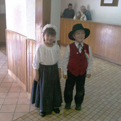 Leelou et Axel 7 ans