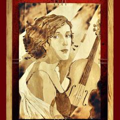 Irina mit Geige