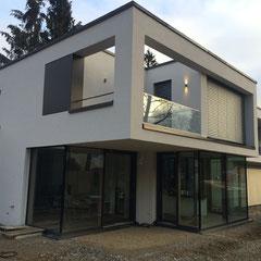 Villa in München, Architektur: http://www.gallist-architekten.de/aktuelles-details/haus-k.html
