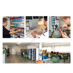Fertigung von innovativen Schaltanlagen, Konstruktion und Montage.