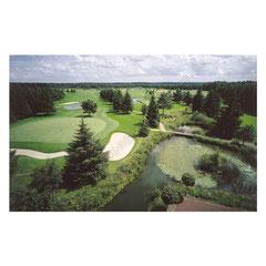 Golfclub Buchholz, Luftbild.