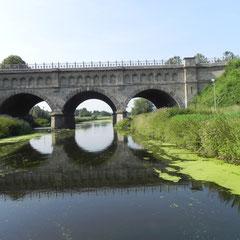 die ausgediente Brücke des Dortmund Ems Kanals