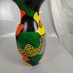 Vaas glas, hoogte 40 cm, doorsnede 18 cm € 69