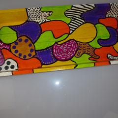 46. Houten Kaarsenblad, 49 x 20 cm,   € 39