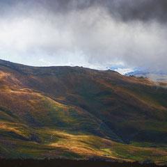 Wetterwechsel beim Aufstieg zur Hütte Nuevos Horizontes an den Illinizas