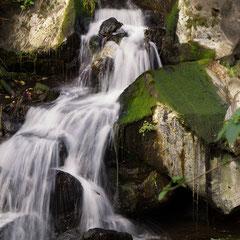 Peguche Wasserfall bei Otavalo