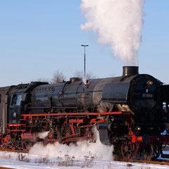 01 1066 im Bahnhof Neuenmarkt-Wirsberg (Foto: U. Kragl)