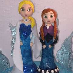 handgemachte Zuckerfiguren Elza und Anna