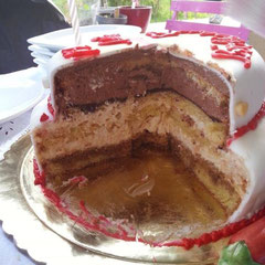 Torte Schokoladen-Chilli-Füllung