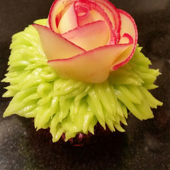 Cupcake Buttercreme-Rose