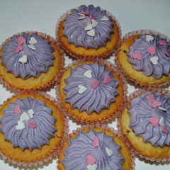 Cupcakes hearts