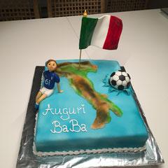 Italien Geburtstagstorte