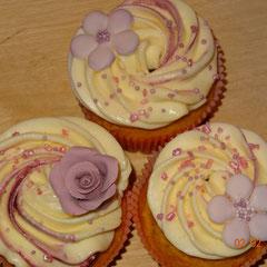 Cupcakes Blumen