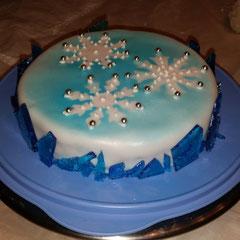 Wintercake Snowflakes