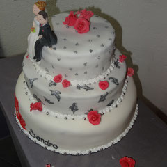 Hochzeitstorte Livia und Sandro