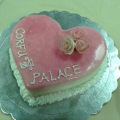 Herztorte Corfu Palace