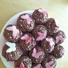 Cupcakes Schmetterling