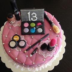 Schmink Torte, Cake Make up