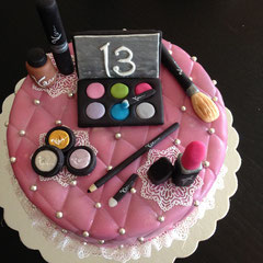 Schmink Torte, Cake Make up