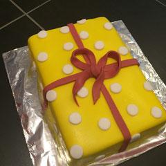 presen cake, Geschenktorte