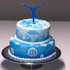 Geräteturnen Geburtstagstorte, gymnastics birthday cake