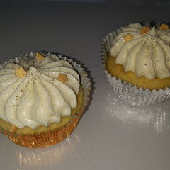 Cupcakes lemon stars
