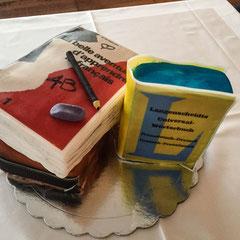Französisch Schulbücher Torten, french school books cakes